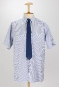 SBB Krawatte 1950 - 1985 mit modernem Hemd