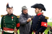 General Dufour mit Oberst