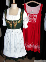 Traditionelle Dirndl