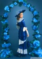 Jahrhundertwende Kleid aus unserer Produktion