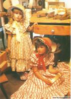 Biedermeier-Kleidchen