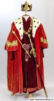Mittelalter König Kostüm
