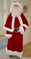 Nikolaus aus rotem Samt
