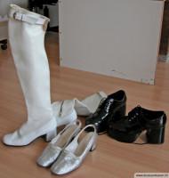 60er Jahre Schuhe