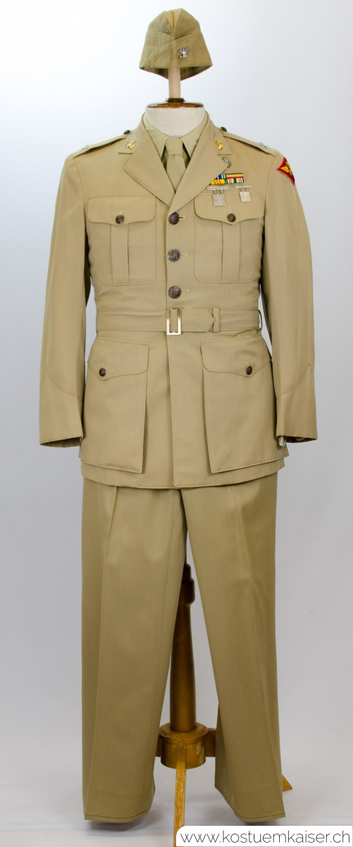 US Marine Corps Sommer Uniform Colonel 2. Weltkrieg